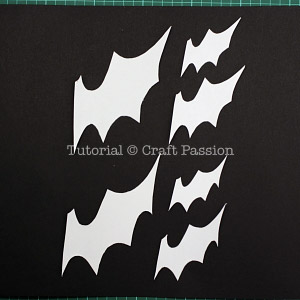 bats flying wall decor halloween diy craft passion page 2 of 2