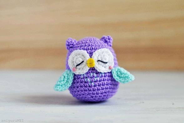 Free crochet owl amigurumi pattern - Amigurumi Today | 392x588