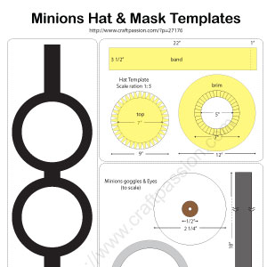 minions hat diy pattern tutorial craft passion page 2 of 2