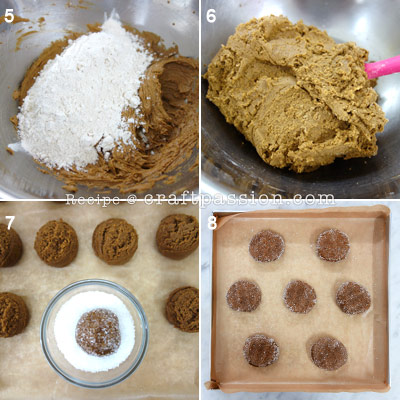 giant ginger snap cookies 2