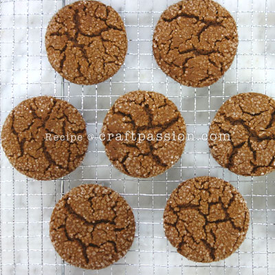 giant ginger snap cookies 3