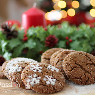 GIANT GINGER SNAP COOKIE RECIPE