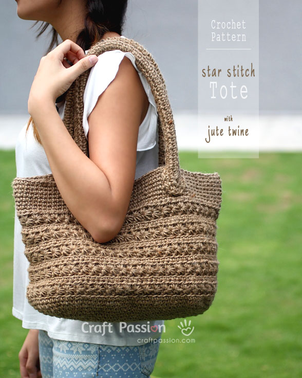 Crochet Handbag Free Patterns & Instructions | 735x588