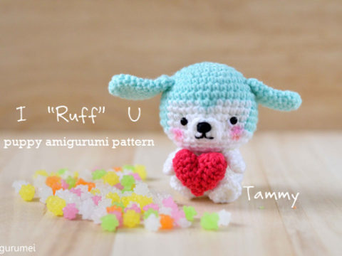 Shy unicorn amigurumi pattern - Amigurumi Today | 360x480