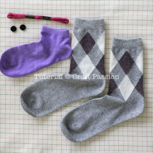 sock to sew bunny