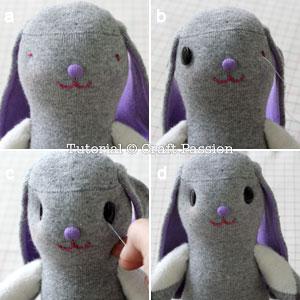 sew sock bunny 12