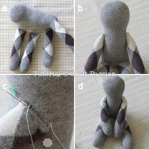 sew sock bunny 6