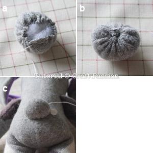 sew sock bunny 7