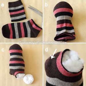 stuff sock penguin