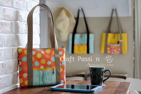 Tablet Bag - Free Sew Pattern | Craft Passion