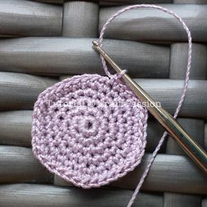 lace thread amigurumi