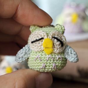 owl charm size