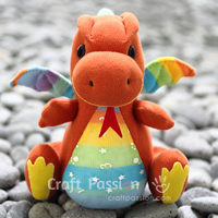 SOCK DRAGON SEWING PATTERN