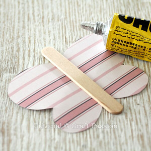 glue craft stick
