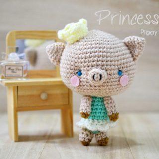 Piggy Amigurumi - Princess P
