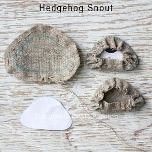 sew hedgehog purse 10