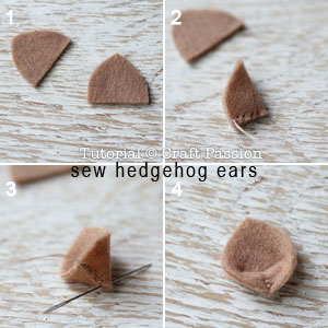 sew hedgehog purse 16