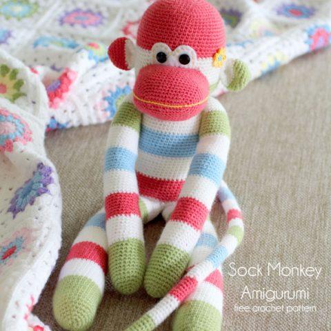 Amigurumi monkey girl | Crochet toys and patterns | lilleliis | 480x480