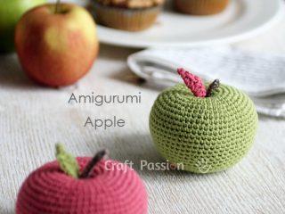 apple amigurumi crochet pattern