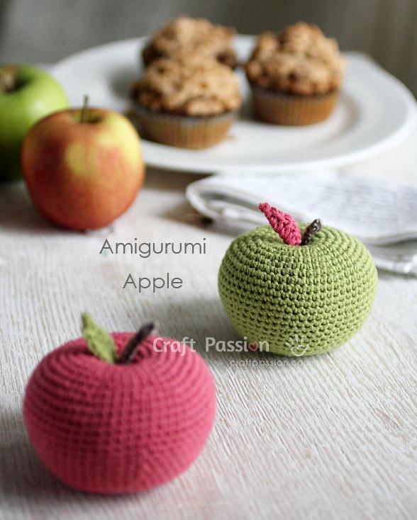Crochet Apple - YouTube | 734x588