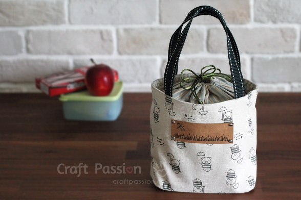 Lunch Box Bag Free Sewing Pattern Craft Passion