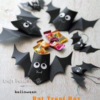 Bat Treat Boxes - How To