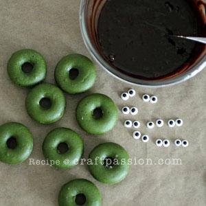 frankenstein donut