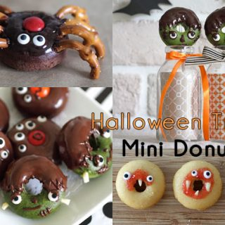 HALLOWEEN DONUT TREATS RECIPE