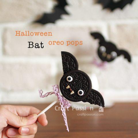 HALLOWEEN BAT OREO POPS RECIPE