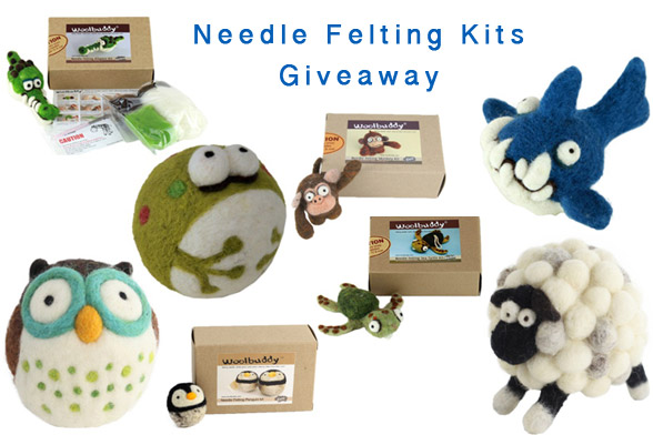 Giveaway: Needle Felting Kits