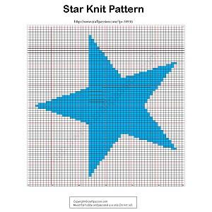 star-knit-pattern