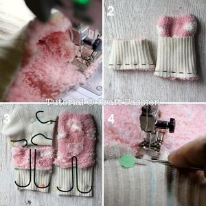 sew socks