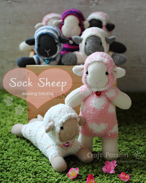 Sock Sheep - Free Sew Pattern | Craft Passion