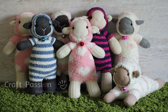 Sock Sheep Sewing Pattern