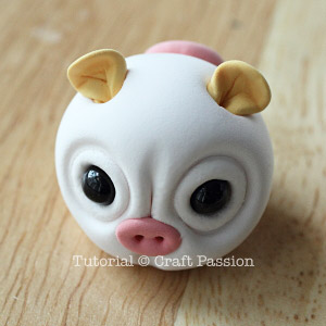 clay pig ears