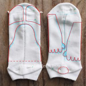 sew sock baymax pattern