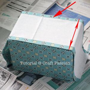 fold bottom piece