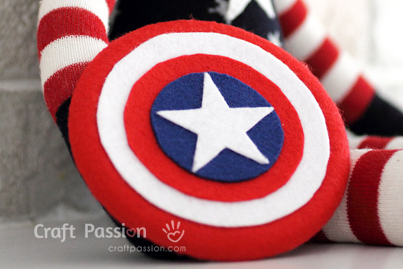 captain america's shield how to make