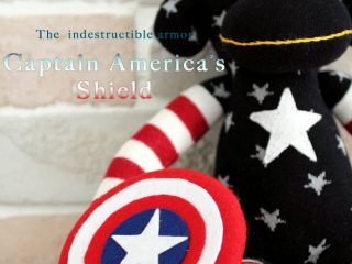 Tutorial on how to make toy Captain America's shield