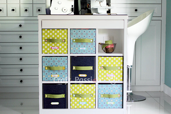 DIY Fabric Storage Box