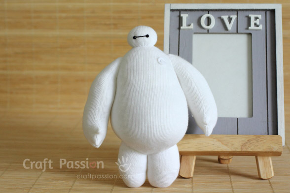Sock Baymax Sewing Pattern
