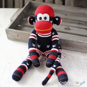 Mabel Sock Monkey
