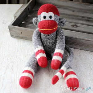 Liz Sock Monkey