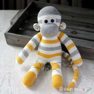 Pebbles Sock Monkey