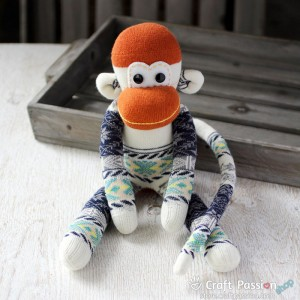Hana Sock Monkey