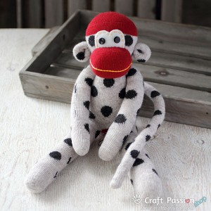 Lizzie Sock Monkey