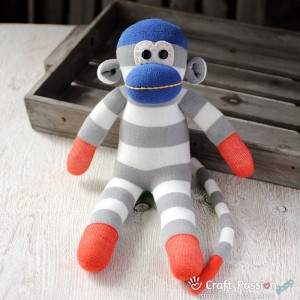 Bean Sock Monkey