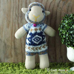 MinMin-Yang Sock Sheep