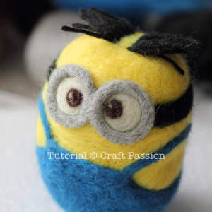 Needle Felted Minions