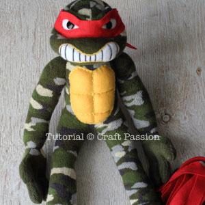 sew ninja turtle 33 assembly